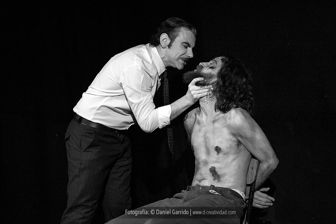 """""""Pedro y el Capitán"""" en Madrid, por Círculo Teatro y El Hangar. Fotos: Daniel Garrido"""