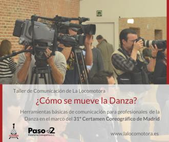taller comunicación del 31 certamen coreográfico de madrid