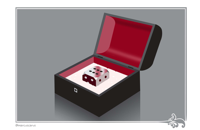 ilustración de marcus carus de la trampa del amor