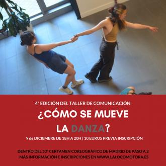 taller de comunicación sobre danza